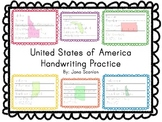 United States Handwriting Practice Pages
