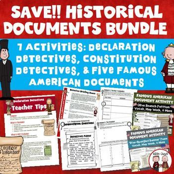 United States Historical Documents Bundle