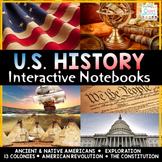 US History Interactive Notebooks United States History Bundle