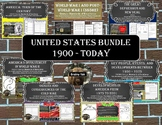 United States History Bundle SS5H1 - SS5H7