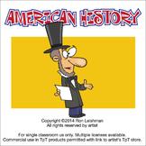 American History Cartoon Clipart