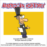 American History Cartoon Clipart