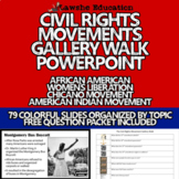 United States History Civil Rights Movement Gallery Walk PowerPoint