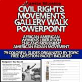 United States History Civil Rights Movement Gallery Walk P