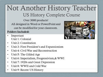 United States History Course (Full Year)