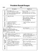 United States History Curriculum Graphic Organizers with Answer Keys
