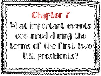 United States History Essential Questions and Common Core Standards Posters