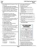 United States History & Government Final Exam Prep Quiz #2