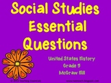 United States History (Gr 5) - McGraw Hill Essential Questions