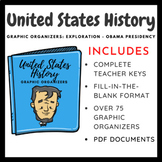United States History Graphic Organizers: Exploration-Civil Rights Movement