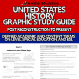 United States History Graphic Study Guide ESL, Special Edu