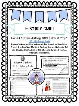 United States History- History DBQ Lab Bundle