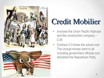 United States History - Industrial Revolution - Big Business  - Monopolies