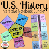 United States History Interactive Notebook GROWING Bundle