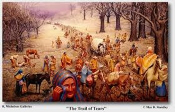 US History Lessons Trail of Tears
