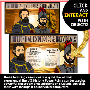 United States History PowerPoint Bundle