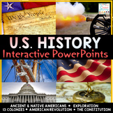 United States History PowerPoint Bundle US History