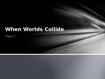 United States History Powerpoint When Worlds Collide Chapter 2