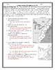 United States History Proclamation of 1763 Graph Worksheet and Key