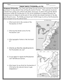 United States History Proclamation of 1763 Graph Worksheet
