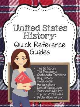 United States History: Quick Reference Sheets