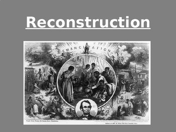 United States History Reconstruction Guided Notes