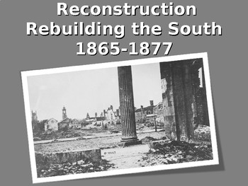 United States History Reconstruction PowerPoint