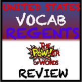 United States History Regents Review: Vocabulary Graphic Organizer