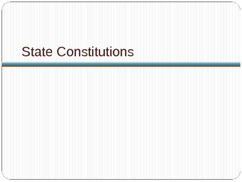 United States History: Road to the Constitution