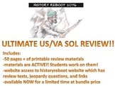 US History SOL Review / CCSS Test Review