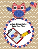 United States History Substitute Plans