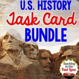 United States History Task Card Bundle