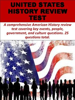 United States History Review Test