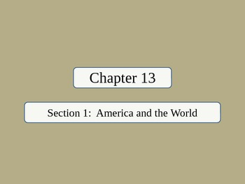 United States History - The American Vision - Unit Five PowerPoint