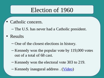 United States History - The American Vision - Unit Six PowerPoint