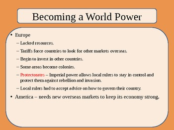 United States History - The American Vision - Unit Three PowerPoint