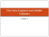 United States History: The Middle and Northern Colonies