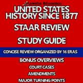 United States History U.S. History STAAR Review Study Guide Packet
