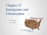 United States History - Urbanization - Immigrants - Cities - NYC