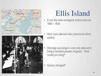 United States History - Urbanization - Immigrants - Cities - NYC