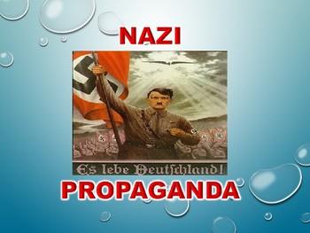 Nazi Propaganda PowerPoint Presentation World War 2 WWII