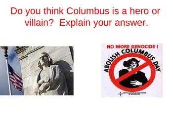 American Colonies: bellringers...warmups...donow...