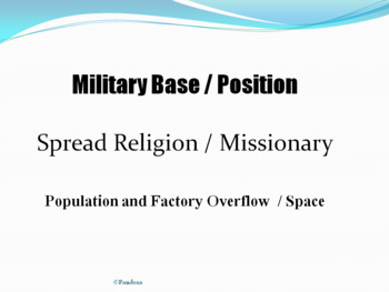 United States Imperialism- General Reasons Why Nations Imperialize PowerPoint