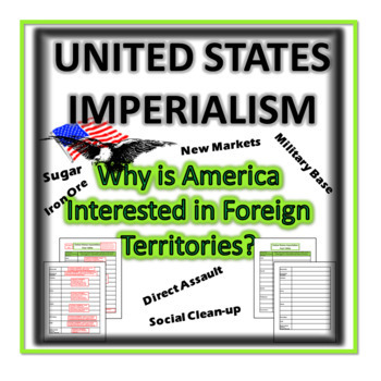 United States Imperialism- Why is America Interested in Foreign Territories?