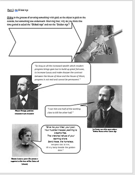 United States Industrial Revolution Review Packet