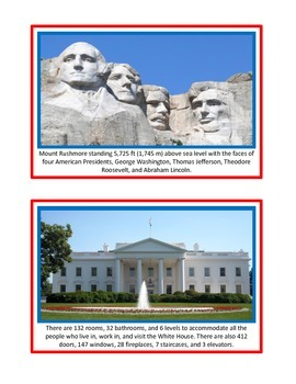 United States Informational Cards