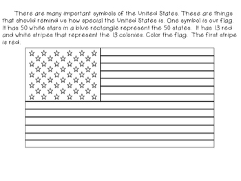 United States Introduction for First Grade