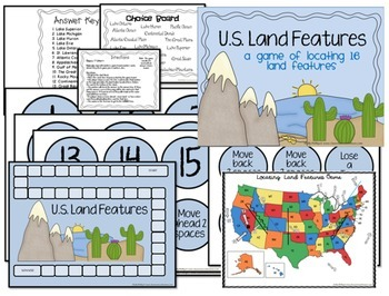 US Land Features