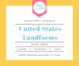 United States Landforms PowerPoint