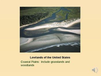 United States Landforms PowerPoint